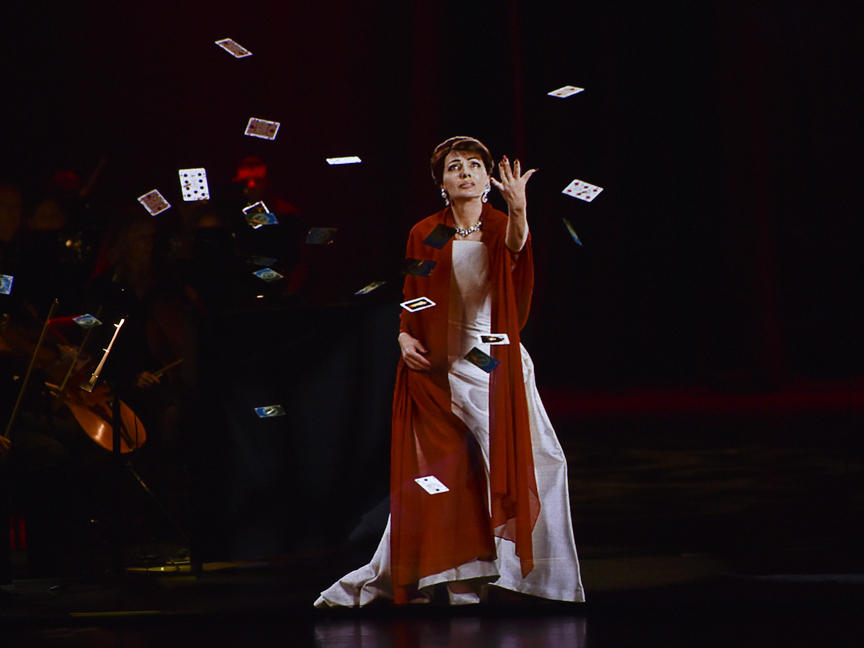 Maria Callas, The Hologram Tour - Paris (Pleyel) - Critique