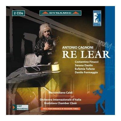 Antonio Cagnoni: Re Lear / Caldi , Daolio, Finucc ...